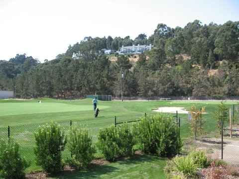 San Bruno Golf Center Short Game Practice Area
