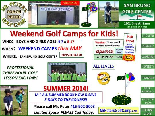 Mr. Peters Golf Camp Information Sheet